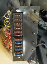 porsche 914e electric conversion and tesla obsession fuse block here s the completed swapover