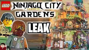 LEGO Ninjago City Gardens Leak - YouTube