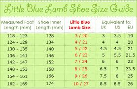 toddler shoe size sizing guide