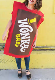 wonka chocolate bar costume. Wonderful Costume Wonka Chocolate Bar Costume Throughout