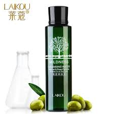 laikou olive oil makeup remover intensive purify cleansing water skin care eyes lips face deep clean cleaner wiper 100ml best makeup remover oil
