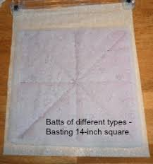 Quilt Batting is what Makes the Quilting Stitches Pop & Each time you acquire a different type of quilt batting be sure and make a  batting sandwich consisting of two layers of muslin with the different type  of ... Adamdwight.com