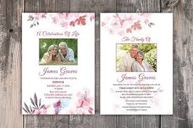 Funeral Invitation Template New Funeral Invitation Or Announcement Funeral Cards And Template