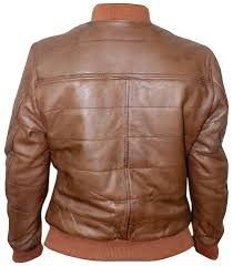 mega brands men leather jacket