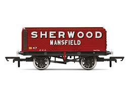 Freight Car 7 Plank Sherwood Colliery No47