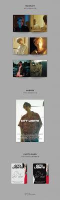 City Lights Poster Baekhyun Kihno Baekhyun 1st Mini Kihno Album City Lights Kihno Kit Poster