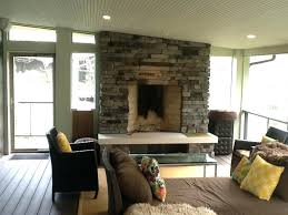 awesome screened porch with fireplace regarding exquisite in ideas best image outdoor
