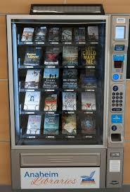 Vending Machine Books Delectable Want A Book Try A Vending Machine From OC Libraries Orange