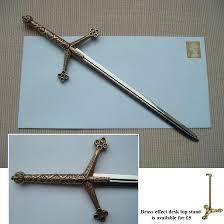 scottish claymore sword letter opener 3466 p