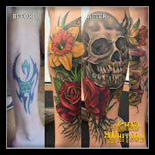 Tattoo Cover Ups Chad Whitsons Balancing Act Tattoo Craft San Diego