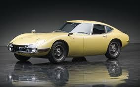 James Bond-Style 1967 Toyota 2000 GT Sells For $1.15 Million
