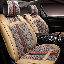 282 00 leather gucci print car seat