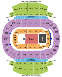 Scotiabank Saddledome Seating Charts For All 2019 Events