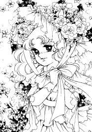 Cartoni Animati Da Colorare Anni 80 Candy Dolce Candy Disegni Da