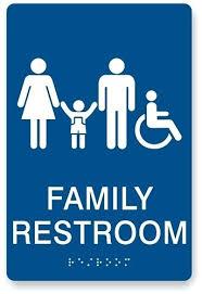 Handicap Bathroom Signs Interesting Ada Bathroom Signs Momhof