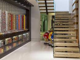 minecraft creator's new mansion has a massive candy wall
