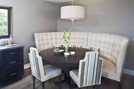 mesmerizing curved settee for round dining table 9 nice ideas all room pictures and images creative gorgeous inspiration