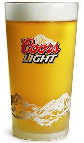 Coors Light Glass Coors Light Glass Box Of 24 Coors Light Glass Boxes Glass