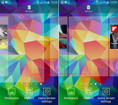 Samsung Galaxy S5 How to Add Rearrange Delete and Set Default