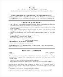 How To Create A One Page Resume. One Page Resume Template Essayscope ...
