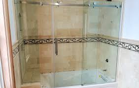 frameless glass bathtub doors redefining your bathtub space