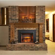 greatco gallery series insert electric fireplace 36 inch surround