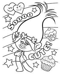 Trolls Coloring Pages Dj Suki Mountainstyleco