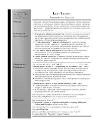 Resume Summary Examples For Administrative Assistants Resume Summary Administrative Assistant Resume Info Pinterest 4