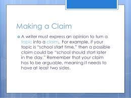 persuasive essay powerpoint