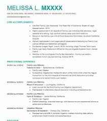 family law attorney resume