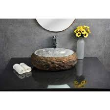 granite vessel sink. Contemporary Vessel Mason Vessel Sink In Granite With Polished Onyx Interior To