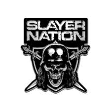 Slayer Merch | Red Enamel Logo Pin | Accessories | Slayer Store