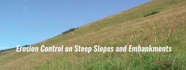 Erosion Control On Steep Slopes And Embankments Denbow