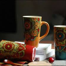 european cup office coffee. 2018 Wind Restoring Ancient Ways Of Foreign Trade The Original Single European Couples Large Ceramic Mug Cup Office Coffee Lemon Water From F