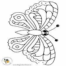 Una Raccolta Di Popolare Farfalla Da Stampare E Colorare Disegni
