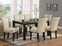 granite top dining table set. Marble Top Dining Room Decoration Set Granite Table