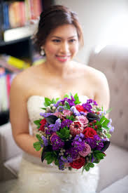 ... Purple Red and Pink Bouquet by Dandie Andie Floral Designs and Boakview  Photography