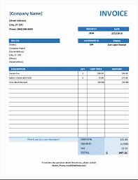 Get Simple Invoice Template Quickbooks Pictures