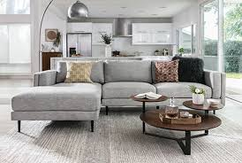 mid century modern living room style