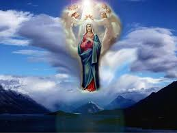 Image result for assumption of the blessed virgin mary image