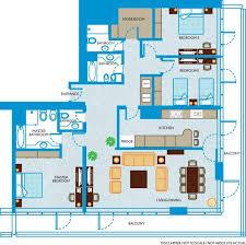 3 Bedroom Apartment In Dubai Wonderful Pertaining To