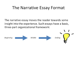 week  the narrative essay format 10