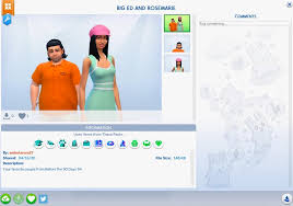 Created Big Ed + Rosemarie on Sims 4 Feel free to download :) :  90dayfianceuncensored