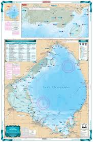 Belleville Lake Depth Chart Northwest Erie Lake And The Detroit River Lake Fishing Chart