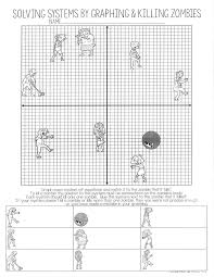 Graphing lines and killing zombies worksheet answer key : 2