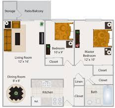 Modern 2 Bedroom Apartment Floor Plans Modern 2 Bedroom Apartment Floor Plans