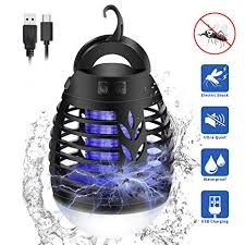 KINGWILL <b>Electric Mosquito Killer</b> Camping Lights, 2 In 1 Portable ...