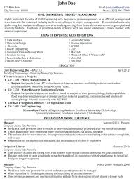 Engineering Manager Resume Civil Engineering Project Management ...
