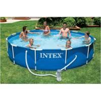 Бассейн каркасный <b>Intex Metal Frame</b> Pool 56996 <b>366х76</b> см ...