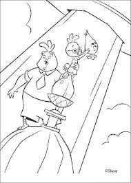 Small Picture Chicken little returning alien friend coloring pages Hellokidscom